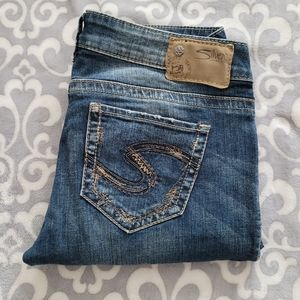 Silver Jeans Tuesday Low Straight W29/L32